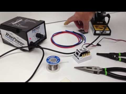 How to Solder an ESC to a Motor - Remote Controlled Vehicles