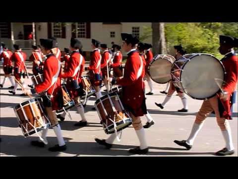 Colonial Williamsburg Fifes and Drums