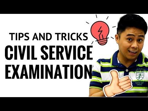 Civil Service Examination Tips Plus Tricks 2018