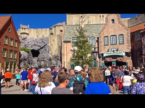 Maelstrom Boat Ride Last Day at Epcot - Walt Disney World - World Showcase Norway