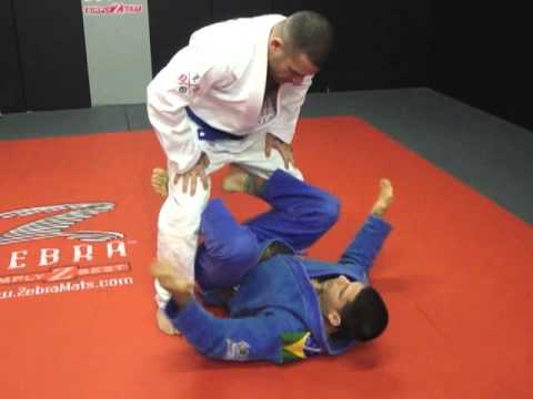 BJJ / MMA Training & Techniques | Closed Guard Sweep To Stand Up Leg Control | Inferno, Marlboro NJ Image 1