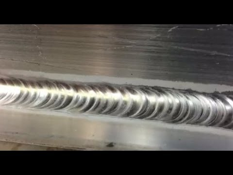ALUMINUM TEE MULTIPASS USING PULSE TIG WELDING - TIPS AND TRICKS