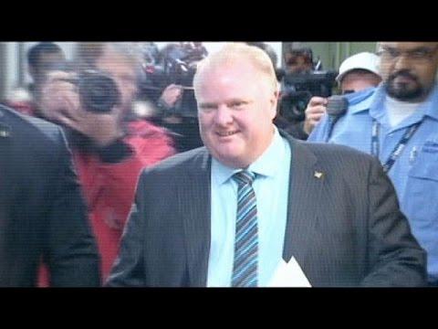 Pas de nouveau mandat pour le maire de Toronto Rob Ford