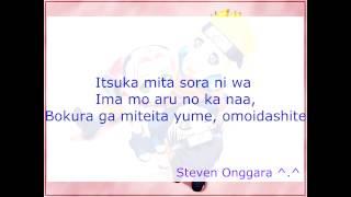 Soba Ni Iru Kara - Amadori - Karaoke - Naruto Soundtrack.mp4