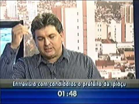 Entrevista com o candidato a prefeito de Ipiaçu Leandro Luis de Oliveira