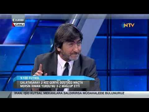 %100 Futbol Rıdvan Dilmen - Galatasaray 3 - 2 Mersin İdmanyurdu / 20 Aralık 2014
