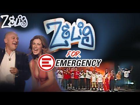 Claudio Bisio e Vanessa Incontrada - Zelig for EMERGENCY