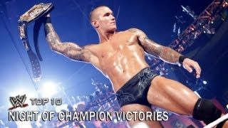 Night of Champions Victories - WWE Top 10