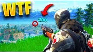 Fortnite fails , lucky shots and funny reactions compilation