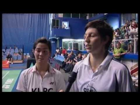 Post match interview with Leanne Choo and Kate Wilson Smith after they claimed victory in the women's doubles at the 2010 Oceania Championships.