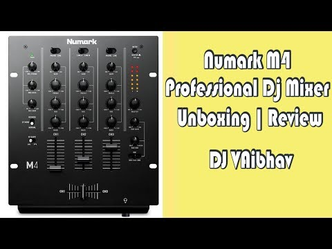 Numark | M4 | Dj Mixer | Unboxing | Review | Dj VAibhav
