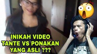 INIKAH VIDEO TANTE VS PONAKAN YANG ASLI ???!!!!