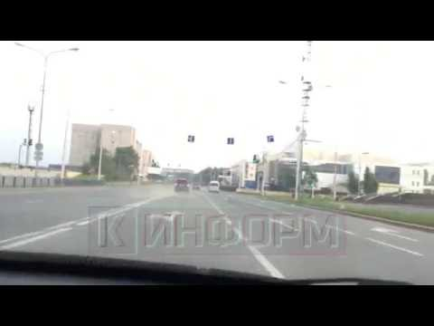 погоня за Range Rover в Сургуте