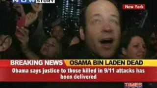 US celebrates Osama bin Laden's death