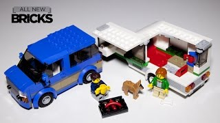 Lego City 60117 Van & Caravan Speed Build