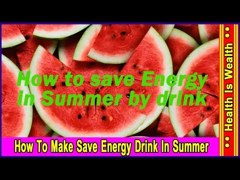How To Save Energy In Summer By Drink 1