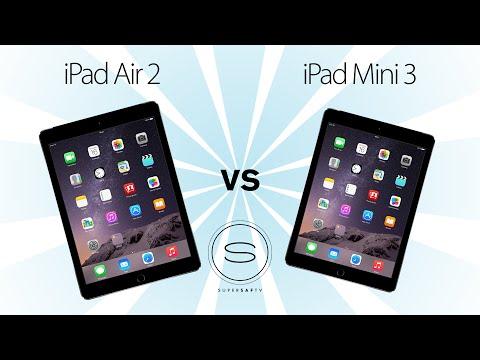 Specs Mini Ipad Ipad Air 2 vs Ipad Mini 3