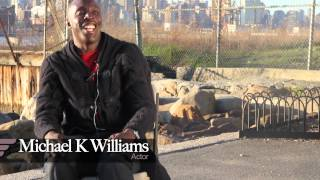Michael K. Williams talks about playing Omar Little on The Wire.