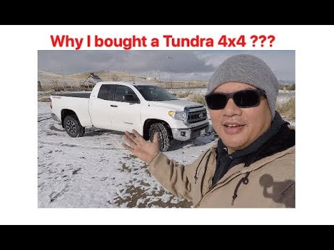 I decided to buy a Toyota Tundra 4x4 TRD off road