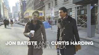 Jon Batiste And Curtis Harding Take A Walk