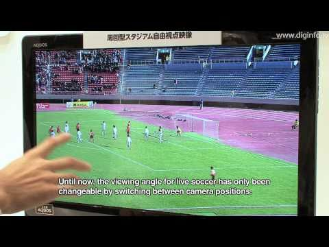 3D Free Viewpoint Video in a Sports Stadium : DigInfo