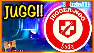 IW ZOMBIES HOW TO GET JUGGERNOG FAST, Tuff Nuff ~ Spaceland Jugg Location (Infinite Warfare Zombies)