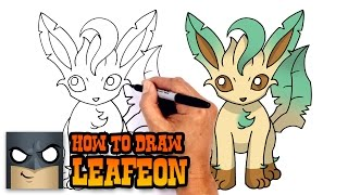 Download How to Draw Leafeon | Pokemon 3Gp Mp4