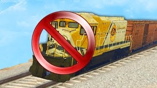 HOW TO STOP THE TRAIN IN GTA 5!