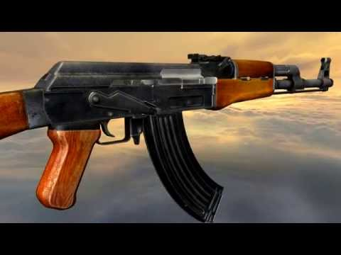 AK (AK-47) (full disassembly and operation)