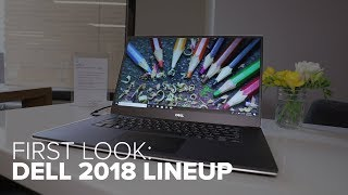 Dell Spring 2018 Lineup first look