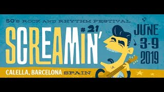 21st SCREAMIN' WEEKENDER, CALELLA, BCN, SPAIN, 2019!!!!!