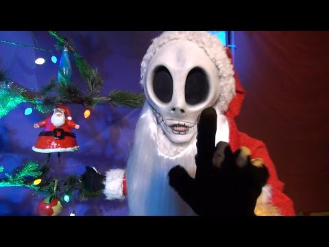 Jack Skellington as Sandy Claws Meet & Greet at Mickey's Very Merry Christmas Party - New for 2014