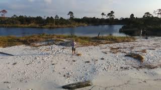 Gulf Shores Gator fishing and metal detecting