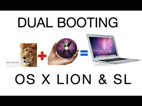 Dual Booting Lion & Snow Leopard