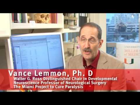Interview with Dr. Lemmon - Miami Project to Cure Paralysis
