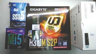 intel Core i5 8400 GIGABYTE H310M S2P intel SSD5 office PC 2018