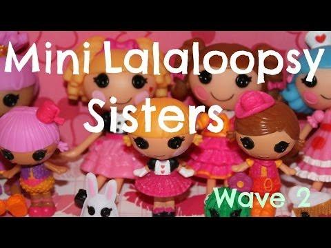 Mini Lalaloopsy Sisters wave 2
