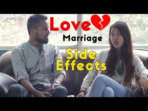 Love Marriage Side Effects - New Nepali Comedy, Funny Short Movie 2017 | Husband and Wife Love Fight
