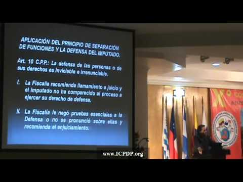 Conferencia de Sabul Hernandez: Congreso ICPDP