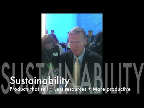 Ford CEO Alan Mulally On Sustainability