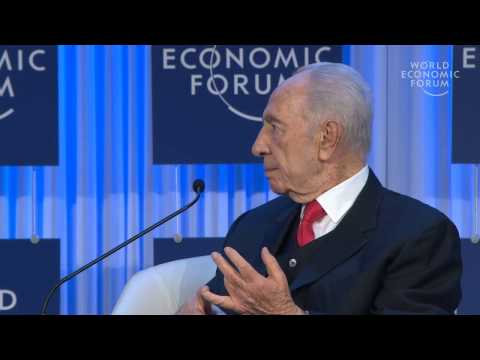 Davos 2013 - A Conversation with Shimon Peres, President of Israel