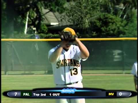 Mountain View Spartans vs Palo Alto Vikings - Baseball  May 2, 2014