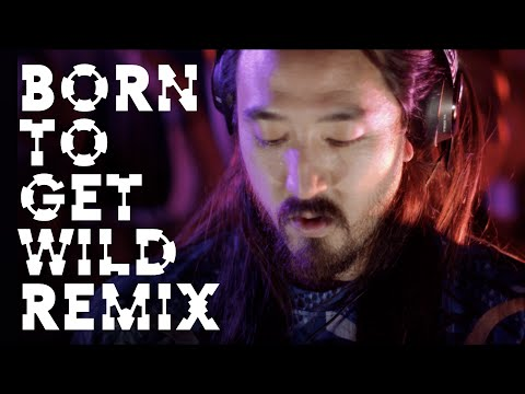Born To Get Wild (Dimitri Vegas & Like Mike Remix) Official Music Video - Steve Aoki ft. will.i.am