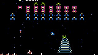 Galaga - Gameplay Arcade 1981