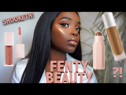 FENTY BEAUTY by RIHANNA FIRST IMPRESSIONS + REVIEW - IM SHOOK SIS
