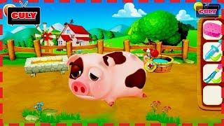 Chơi tắm heo và cắt tỉa lông cừu nông trại nhỏ mơ ước culy chơi game little dream farm lồng tiếng vu