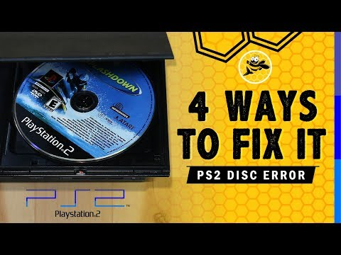 How To Fix PS2 Slim Disc Error
