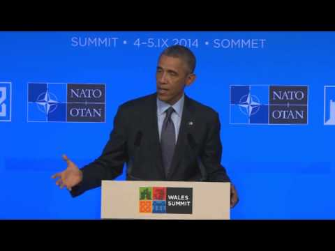 President Obama Talks About Executive Action on Immigration at the NATO Press Conference in Wales