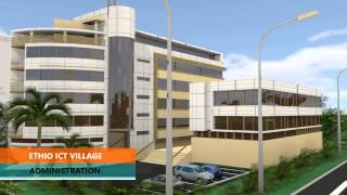Ethio ICT Village inaugurated on June 7th 2015, 3D Animation