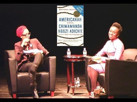 Chimamanda Ngozi Adichie with Zadie Smith